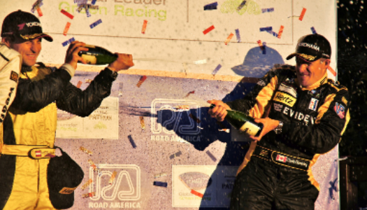 JDX Racing Captures Third consecutive Podium in ALMS at Road America