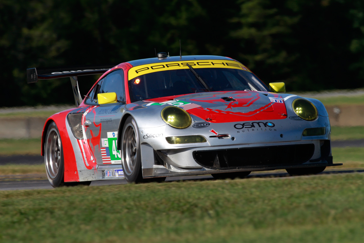 Lizard Porsches 5th/6th on VIR GT Grid; Green Hornet GTC Pole