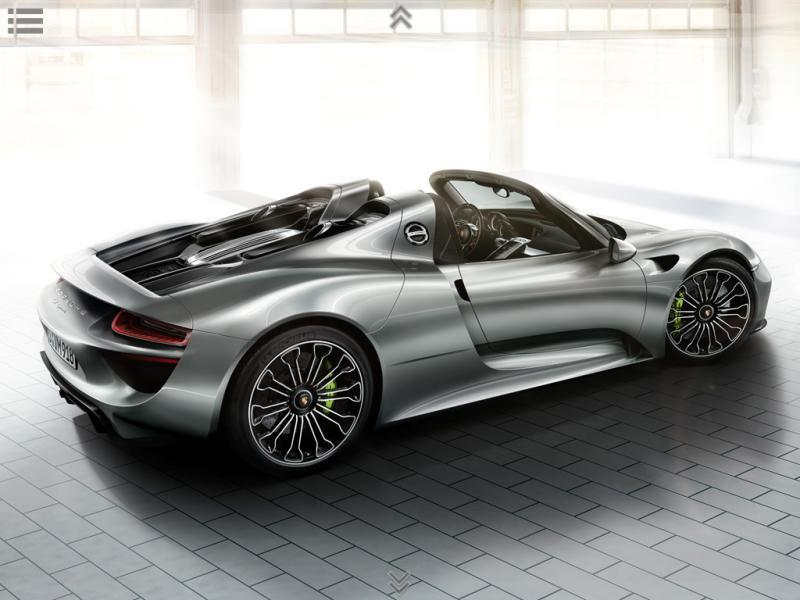 918 Spyder Production Version Factory Brochure Leaked