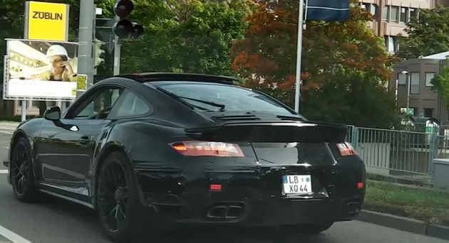 New 991 Turbo Caught On Video