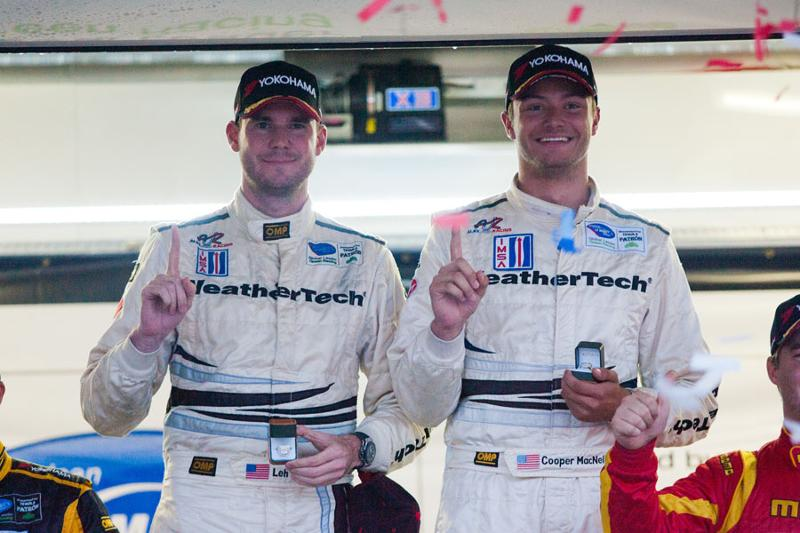 MacNeil Wins VIR and GTC Championship in WeatherTech Porsche