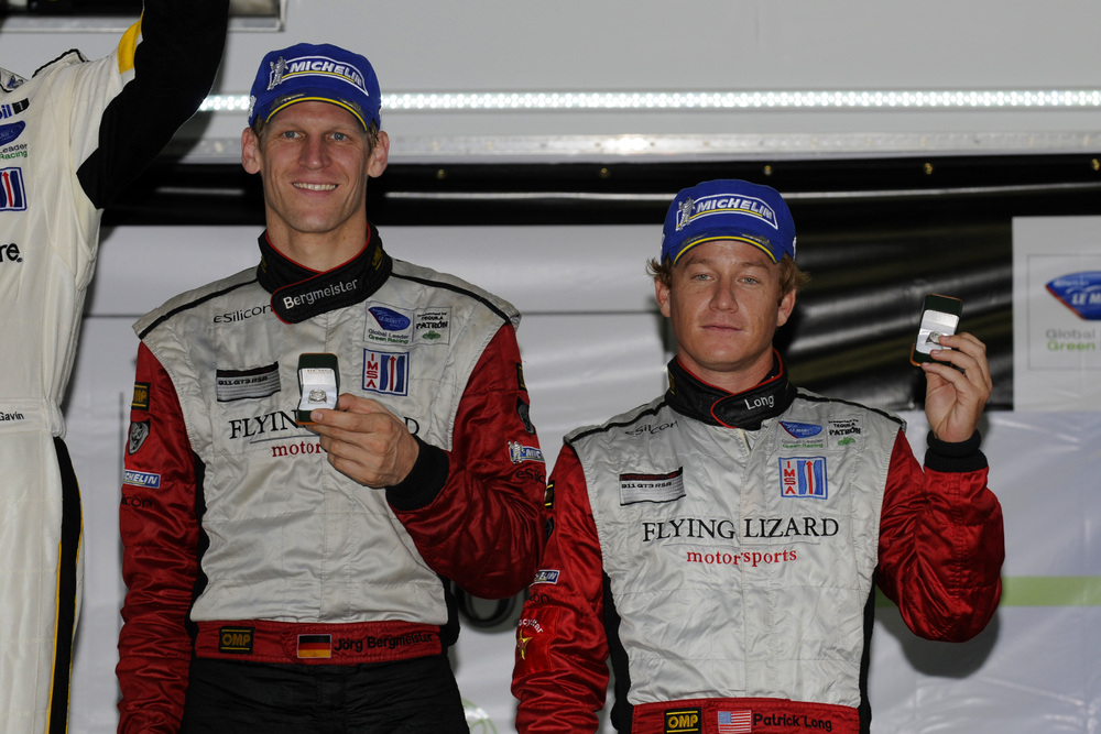 Long/Bergmeister 2nd at VIR ALMS GT; AJR Porsche Clinches GTC