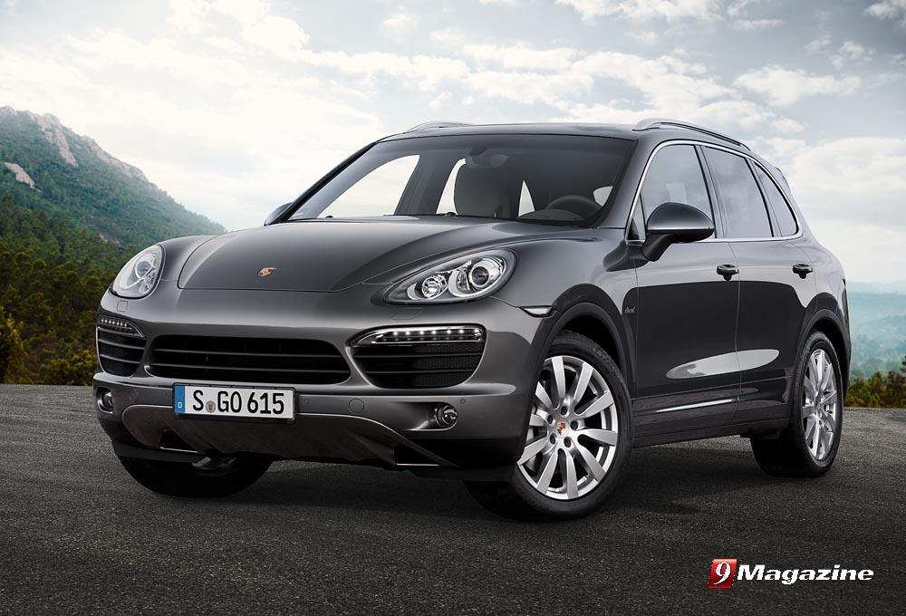 Porsche Reveals New Cayenne S Diesel  for Europe