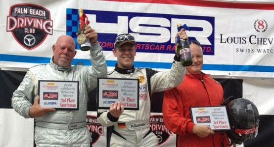 Sandridge and Schneider Take Pirelli Cayman Interseries Endurance Cup Championship Race Wins at Atlanta Historics