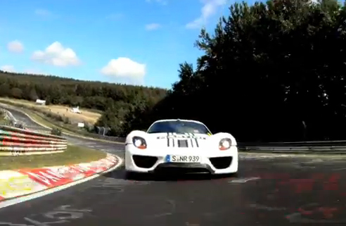 VIDEO: 918 Spyder – Successful Test on the Nürburgring