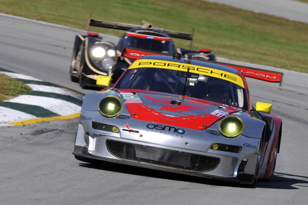 ALMS: Porsche Pilots Narrowly Miss Podium at Season Finale