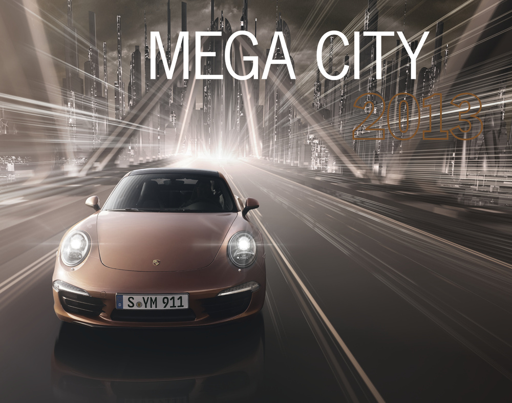 Time Is Flying By: New 2013 Porsche Calandar Available