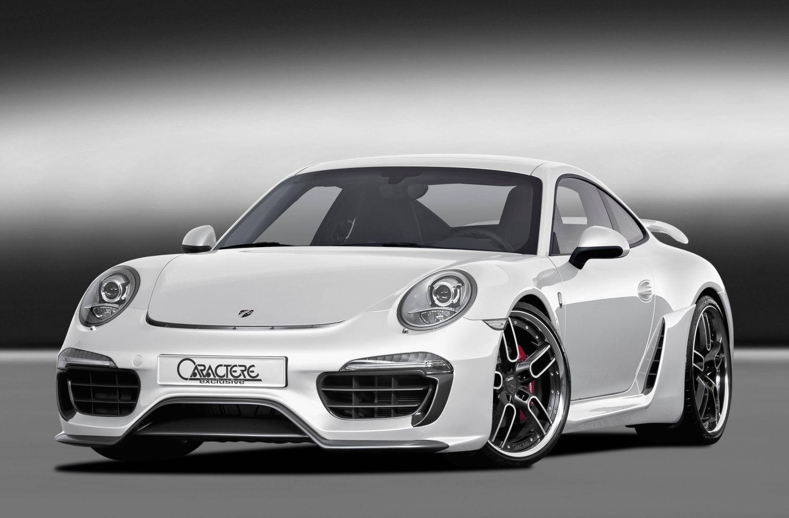 Caractere Exclusive Unveils New Aero Kit for the Porsche 991