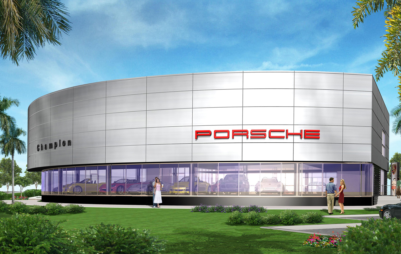 Champion Porsche To Become Leed Gold Certified 9 Magazine