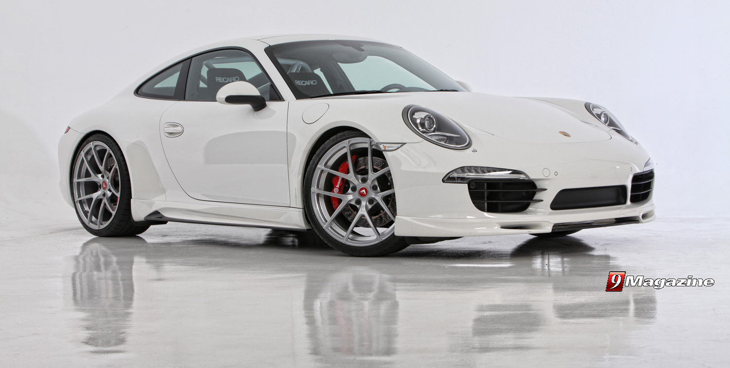 Vorsteiner Announces V-GT Tuning Program for the 991 Carrera