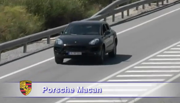 Watch Spy Video Of The New Porsche Macan