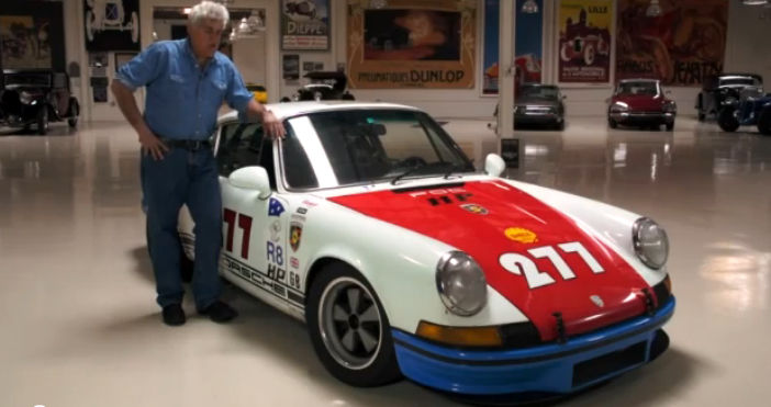 Magnus Walker Goes to Jay Leno's Garage : VIDEO