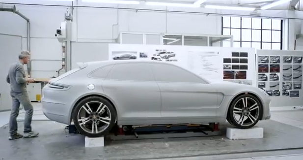 VIDEO: Design Process Behind the Panamera Sport Turismo
