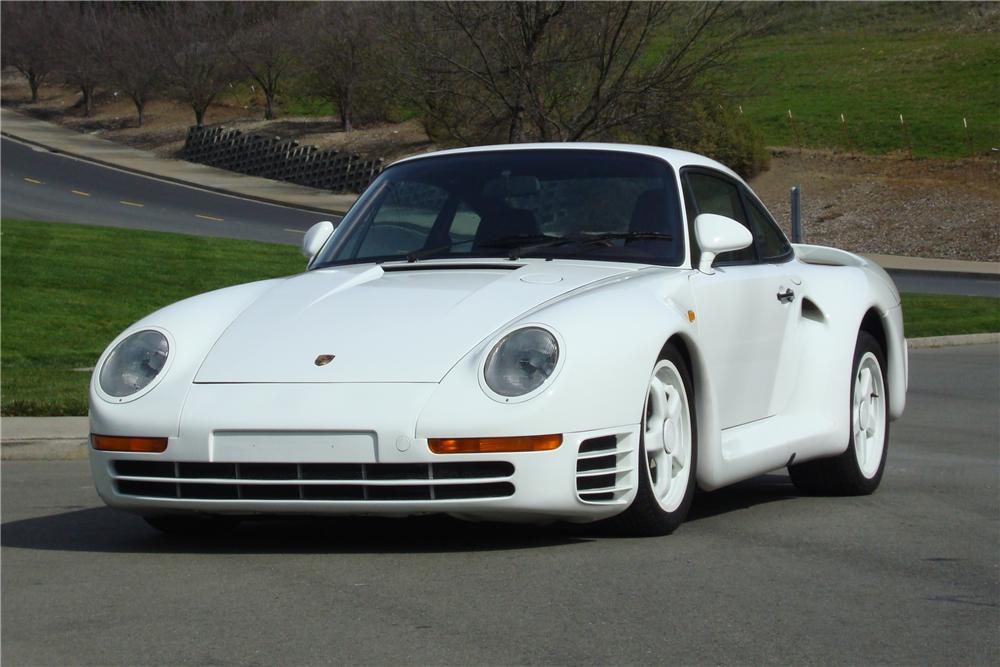 Super-Rare Prototype Porsche 959 To Be Auctioned By Barrett-Jackson