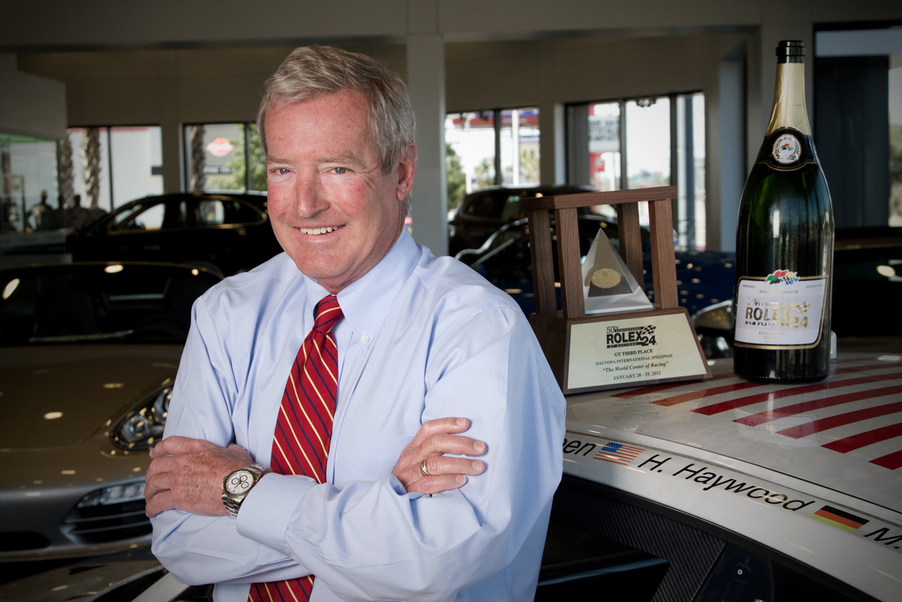 Hurley Haywood Ready for Role as Grand Marshal in 51st Anniversary of the Rolex 24 At Daytona